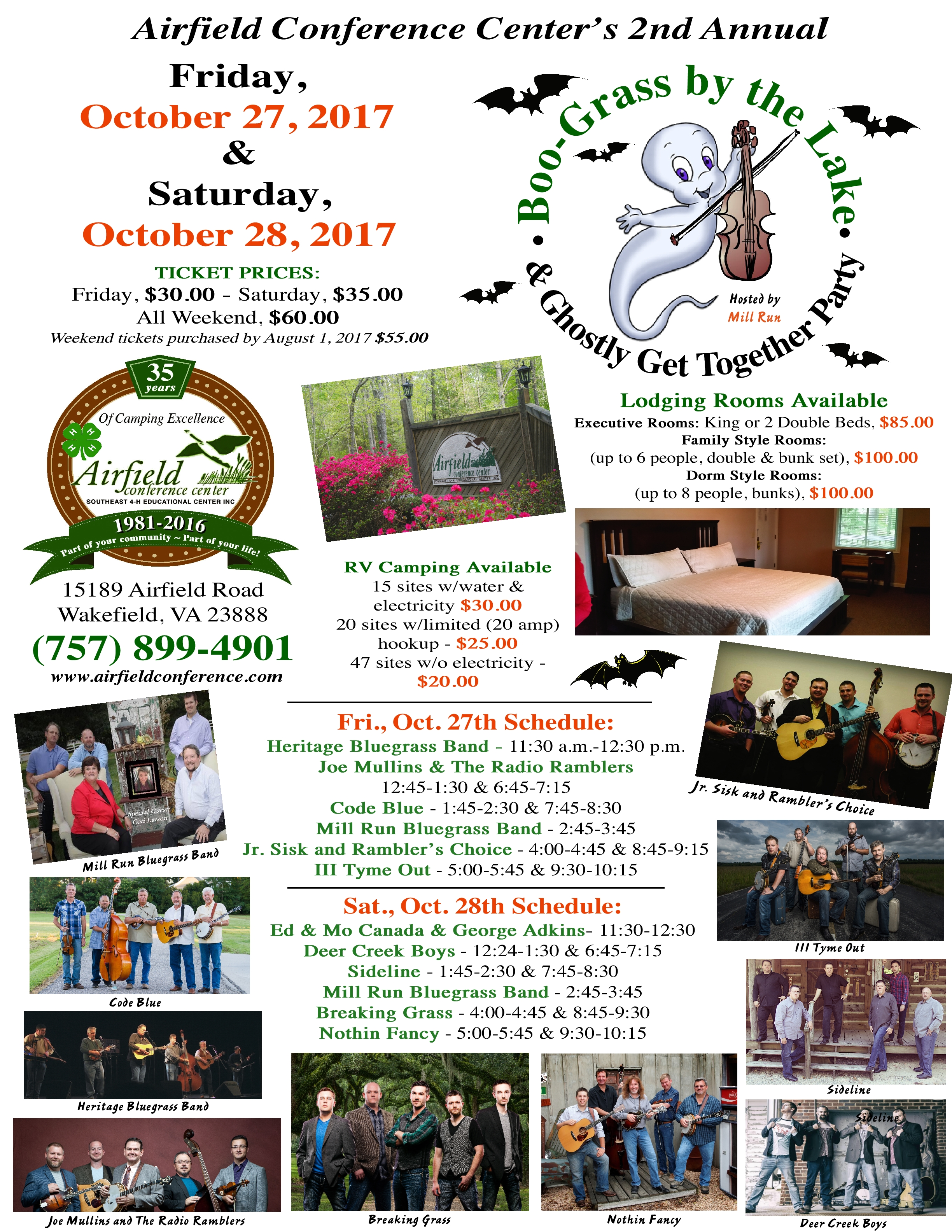 2017 Boo-Grass by the Lake Flyer