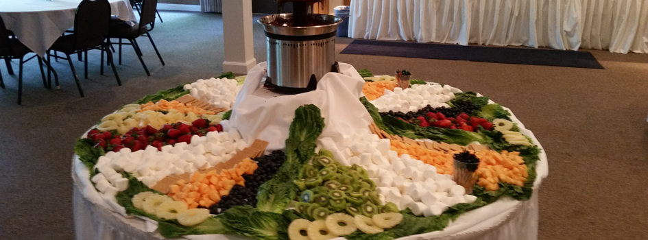 Catering at Airfield Conference Center