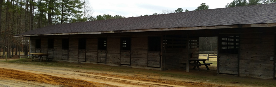 Horse Stables at Airfield